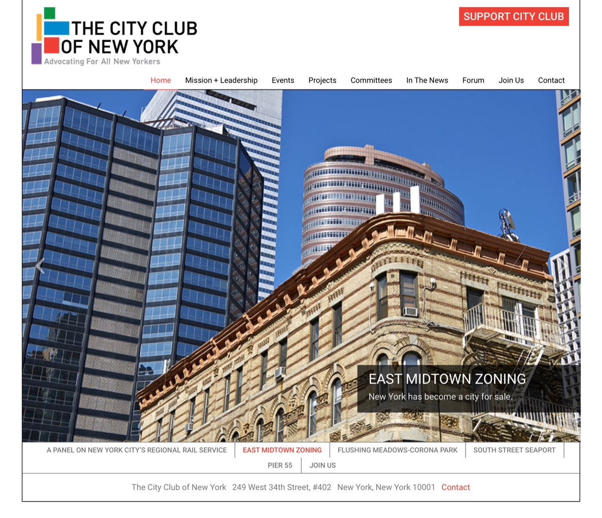 City Club of NY